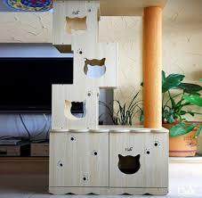 Decorative Cat Box Diy Cat Box Cabinet Evanandkatelyncom I Have Three Cats So