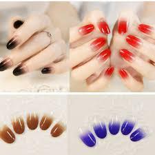 aliexpress com buy 24x fashion grace short false nail tips