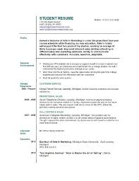 How To Write Job Resume by How To Write A Resume For The First Time Jennywashere Com