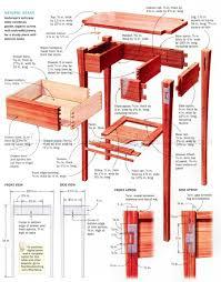 Hall Table Plans Hall Table Plans U2022 Woodarchivist