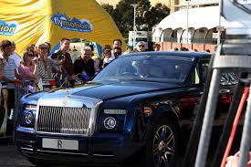 yellow rolls royce movie johnny english reborn births at entertainment quarter sydney by