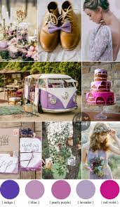 Purple Shades by Bohemian Wedding Theme In Romantic Shades Of Purple Lilac