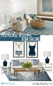 Home Design Challenge Florida Room Challenge By Douglas Elliman Actually Ashley