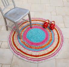 Crochet A Rag Rug Crocheted Rag Rug From Sheets Creative Jewish Mom