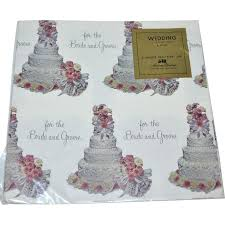bridal shower wrapping paper 1950s american greetings wedding or bridal shower gift wrap