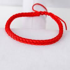 red friendship bracelet images Doreenbeads polyester kabbalah red string braided friendship jpg