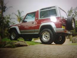 daihatsu rocky balbo 1994 daihatsu rocky specs photos modification info at