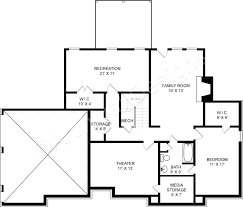 Basement Floor Plans Westlake Daylight Basement Plans Traditional Floor Plans