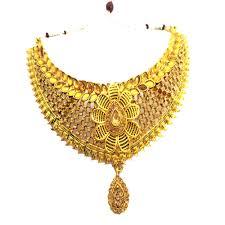 neck necklace gold images Bridal neck fit necklace with shine gold kundan kangankart jpg