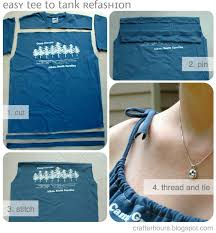 t shirt to tank a tutorial by jen from upcycled education