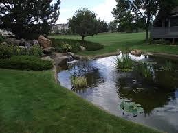 large backyard ponds outdoor goods