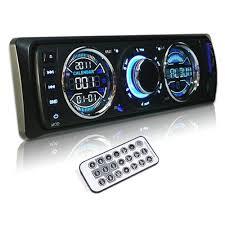 Usb Port For Car Dash Agptek Car Remote Control Audio Stereo In Dash Fm Radio Receiver