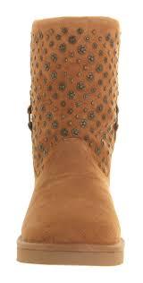 ugg womens eliott boots chestnut ugg elliot calf boots chestnut suede knee boots