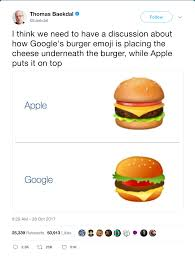 cheese emoji new york graphic design agency alfalfa studiogoogle u0027s burger emoji