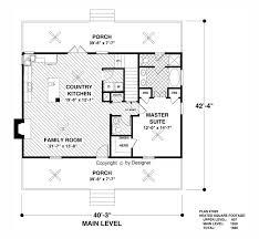 cabin layouts plans cottage country farmhouse design floor plan designs ideas kitchens