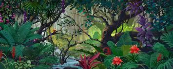 jungle backdrop jungle book backdrops for school plays 915d jungle paradise