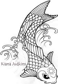 koi fish by wikidtron on deviantart