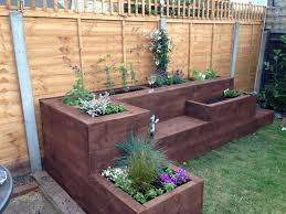 garden boxes ideas raised bed gardens pinterest home outdoor decoration
