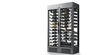 wine shelfs and multi temperature wine cooler systems covini xi