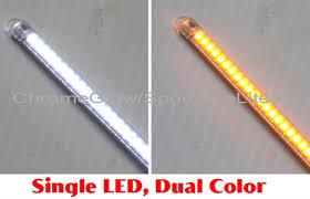 led light strip turn signal white amber flexible array daytime running light led strip with led