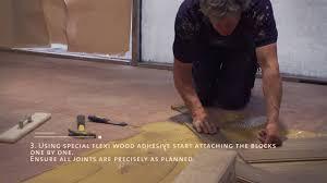 How To Install Laminate Flooring Step By Step Herringbone Wood Floor Step By Step Installation Youtube
