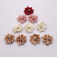 craft ribbon wholesale 30mm wholesale 100pcs exquisite ribbon flower diy fabric