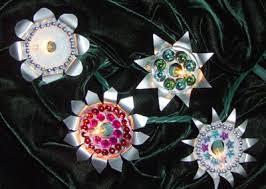 reuse tea light holders for decorations dollar store crafts