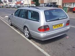 mercedes e class just serviced long mot 7 seat w210