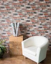 Fake Exposed Brick Wall Our Favorite Faux Effect Wallpapers U2013 Brewster Home
