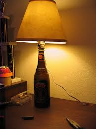 make a lamp from a bottle 4 steps