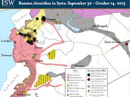 Syria Map Control by Map Russian Airstrikes In Syria Are Helping Isis And Assad