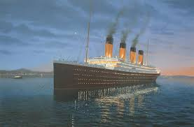 the magnificent ship of dreams titanic painting for 20x30 oils