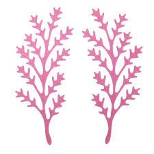 Stencil Albero by Aliexpress Com Buy 2pcs Set Tree Leaves Shape Metal Steel