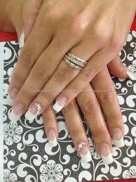 eye candy nails u0026 training classic french acrylic nails with