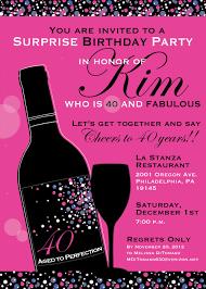 8 40th birthday invitations ideas and themes u2013 sample wording