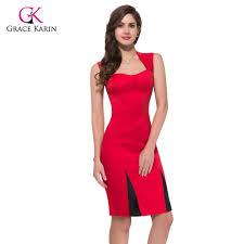 aliexpress com buy summer style black red women short 50s prom