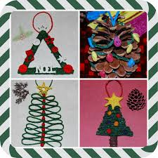christmas tree ornaments kids make christmas lights decoration