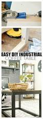 an easy way to build an industrial wood coffee table kreg jig