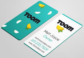 Business Cards Rounded Corners 2017 Business Card Trends Psprint Blog