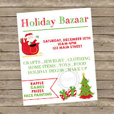 8x10 personalized christmas fall winter bazaar craft