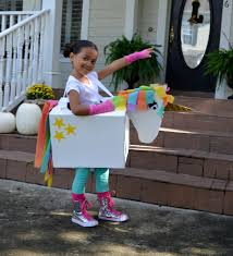 kid u0027s halloween costume unicorn halloween halloween cardboard