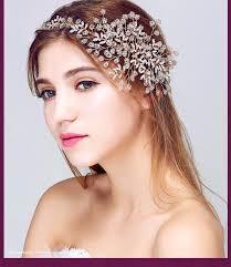 bridal headbands luxury handmade wedding hair accessories gold tiaras