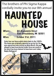 halloween city stroudsburg pa past events phi sigma kappa