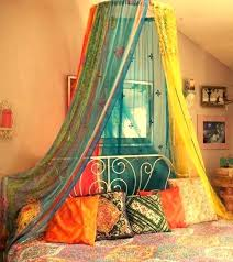 Bohemian Bed Canopy Diy Bohemian Bed Canopy Fitnessarena Club