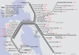 Bay Area Rapid Transit Map San Francisco Bay Area Transit Transportation News Archive