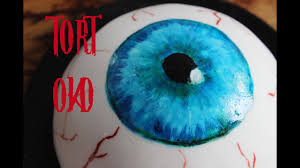 halloween eyeball cakes