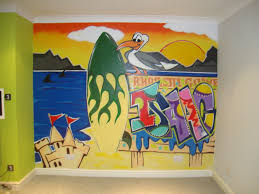 bedroom wall graffiti murals full bedroom wall painted with graffiti almondsbury