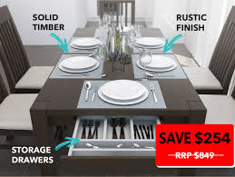 modern timber dining tables solid timber furniture melbourne solid timber furniture black and