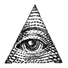 grey ink illuminati eye logo tattoo design roblox