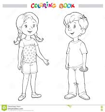 coloring pages boy and coloring page